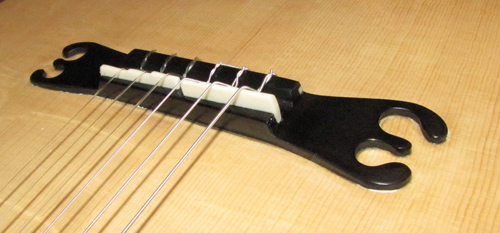 Bridge of the EB-guitars