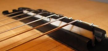 how to restring a classical guitar with ball end strings